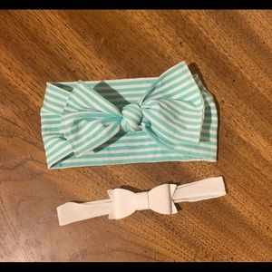 Set of Two Baby Bling Bows